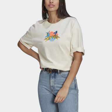 Women Originals White Adicolor Essentials x Egle Tee