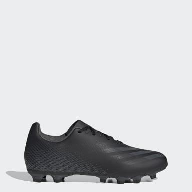 Calzado de Fútbol X Ghosted.4 Multiterreno Negro Hombre Fútbol