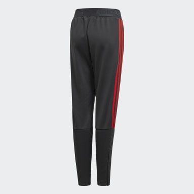 Boys Gym & Training Grey Tiro Pants