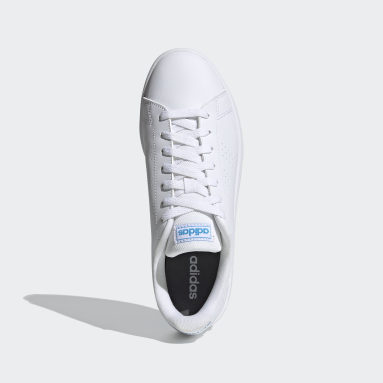 Men Sport Inspired White Advantage Base Shoes