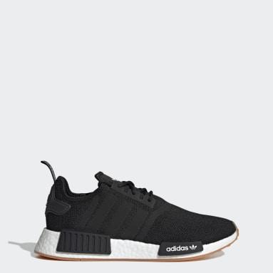 Men Originals Black NMD_R1 Primeblue Shoes
