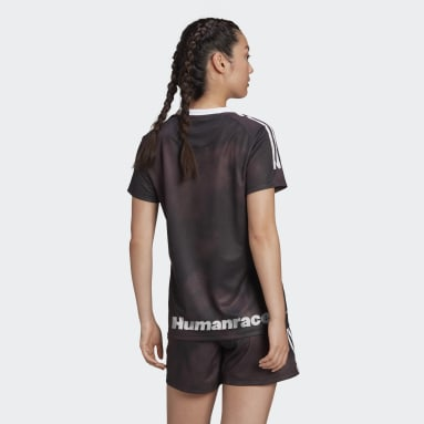 Women Football Black Real Madrid Human Race Jersey