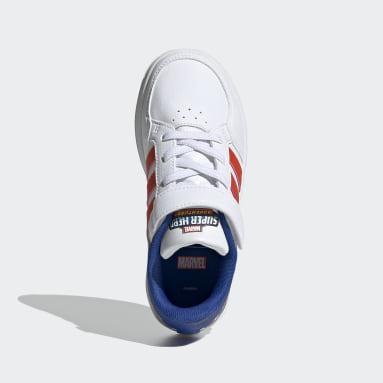 Kinder Tennis Breaknet Schuh Weiß