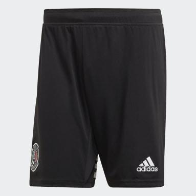 Shorts Uniforme Titular Selección de México Negro Hombre Fútbol