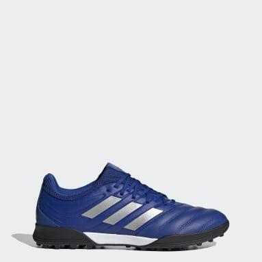 Men Football Blue Copa 20.3 Turf Boots