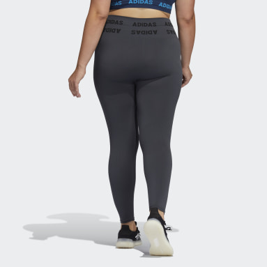 Kvinder Cricket Grå Training Aeroknit 7/8 High-Rise Plus Size tights