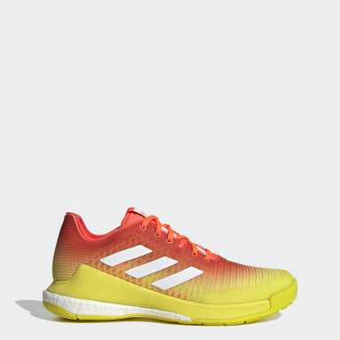 Women's Training Orange CrazyFlight Volleyball Shoes