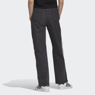Women Originals Black Denim Adibreak Pants
