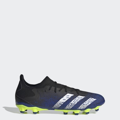 Football Black Predator Freak.3 Low Multi Ground Boots