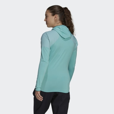 Frauen TERREX TERREX Skyclimb Fleece Windbreaker Grün