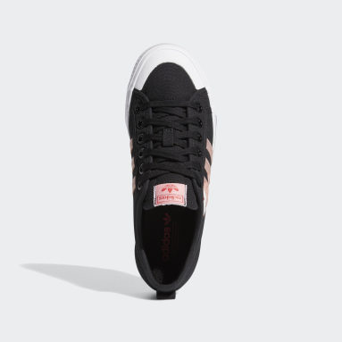 ผู้หญิง Originals สีดำ รองเท้า Nizza
