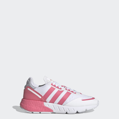 Tenis ZX 1K Boost Blanco Niño Originals