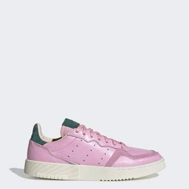 Kvinder Originals Pink Supercourt sko