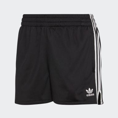 Women Originals Black 3-Stripes Shorts