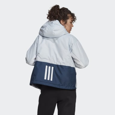 Dames City Outdoor Blauw Back to Sport Insulated Jack