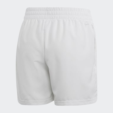 Shorts Club Blanco Niño Tenis