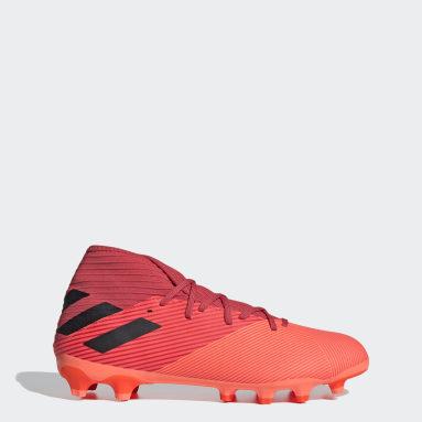 Football Orange Nemeziz 19.3 Multi-Ground Boots