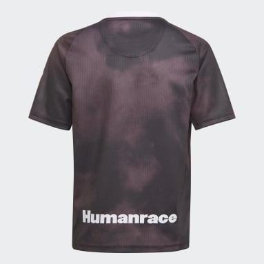 Børn Fodbold Sort Real Madrid Human Race trøje