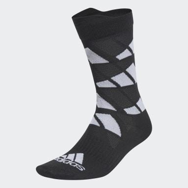 Sports černá Ponožky Ultralight Allover Graphic Crew Performance