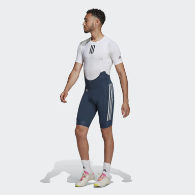 Heren Wielrennen Blauw The Padded Cycling Bib Short