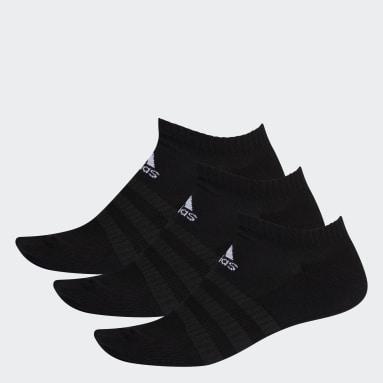 Handbal Zwart Gevoerde Korte Sokken 3 Paar