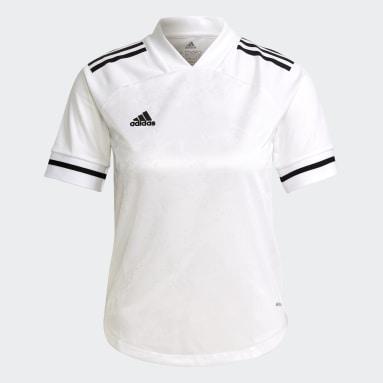 Camiseta Condivo 20 Blanco Niño Fútbol