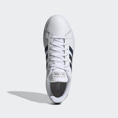 Tenis Grand Court Blanco Hombre Diseño Deportivo