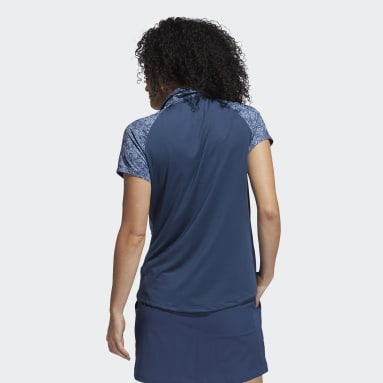 Polo Ultimate365 Primegreen Printed Azul Mujer Golf