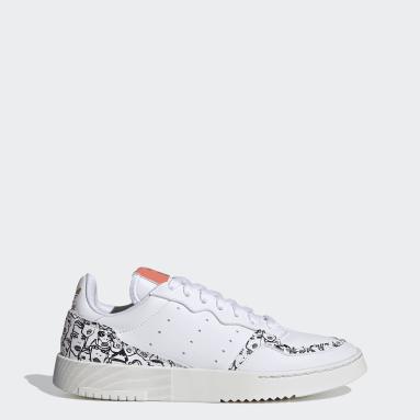 Women's Originals White Supercourt Shoes
