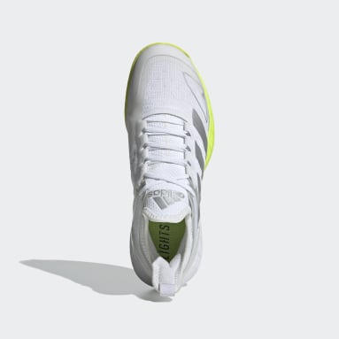 Women's Tennis White Adizero Ubersonic 4 Tennis Shoes