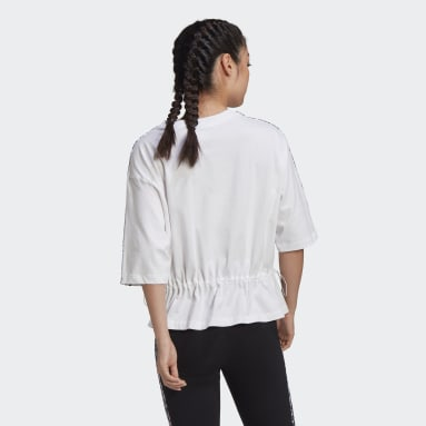 T-shirt Boxy Blanc Femmes Originals