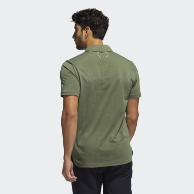 Men Golf Green Adicross Desert Print Polo Shirt