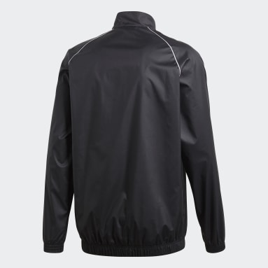 Men Gym & Training Black Core 18 Windbreaker