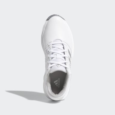 Kids Golf White CP Traxion Shoes
