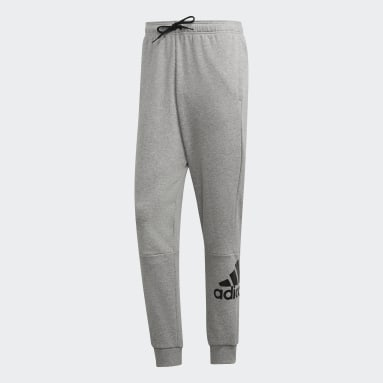Men Sportswear Grey Must Haves French Terry Badge of Sport Pants