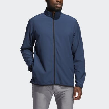 Men Golf Blue Golf Core Windbreaker