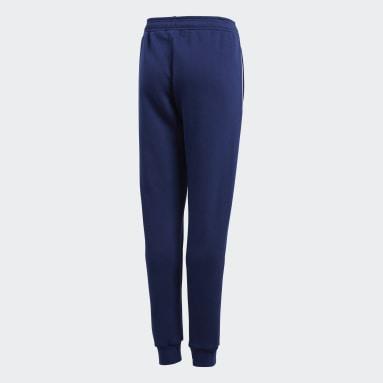 Pantalon de survêtement Core 18 Bleu Enfants Fitness Et Training