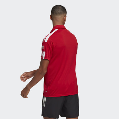 Men Football Red Squadra 21 Polo Shirt