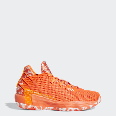 Basketball Orange Dame 7 I Am My Own Fan Shoes