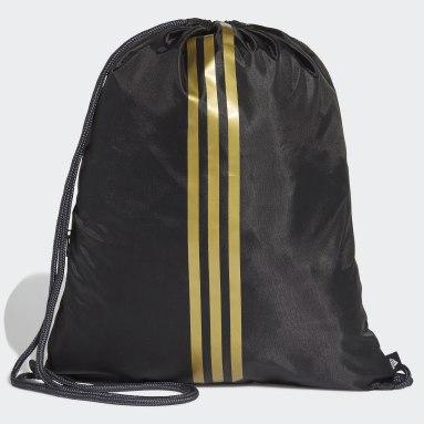 Football Black Real Madrid Gym Bag