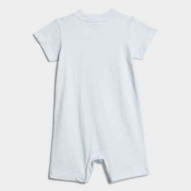 Barboteuse Shortie Cotton Bleu Bambins & Bebes Entraînement