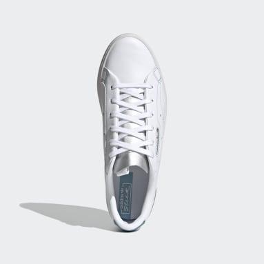 Ženy Originals bílá Boty adidas Sleek