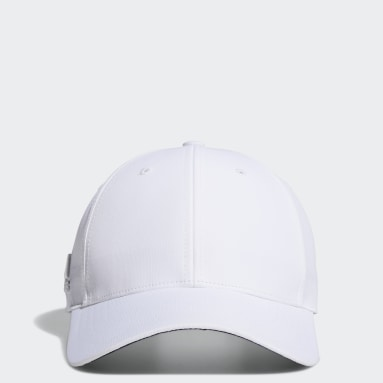 Men Golf White Crestable Performance Hat