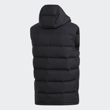 Men City Outdoor Black Helionic Down Vest