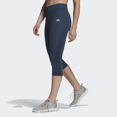 Tight 3/4 U4U AEROREADY Blu Donna Fitness & Training