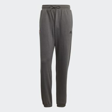 Men Sportswear Grey Joggers