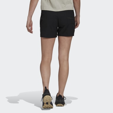 Women TERREX Black Terrex Liteflex Hiking Shorts