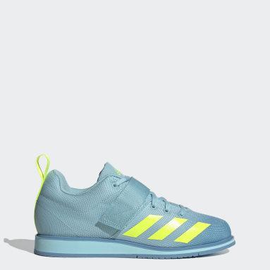 Sapatos de Halterofilismo Powerlift 4 Azul Mulher Halterofilismo