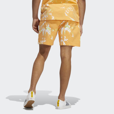 Men's Originals Orange All Day I Dream About Tie-Dye Shorts