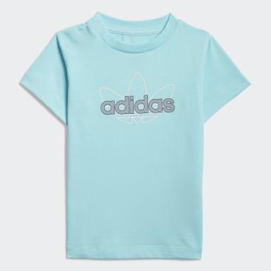 Děti Originals modrá Tričko adidas SPRT Collection Graphic